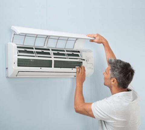 Cómo hacer una instalación limpia y organizada del aire