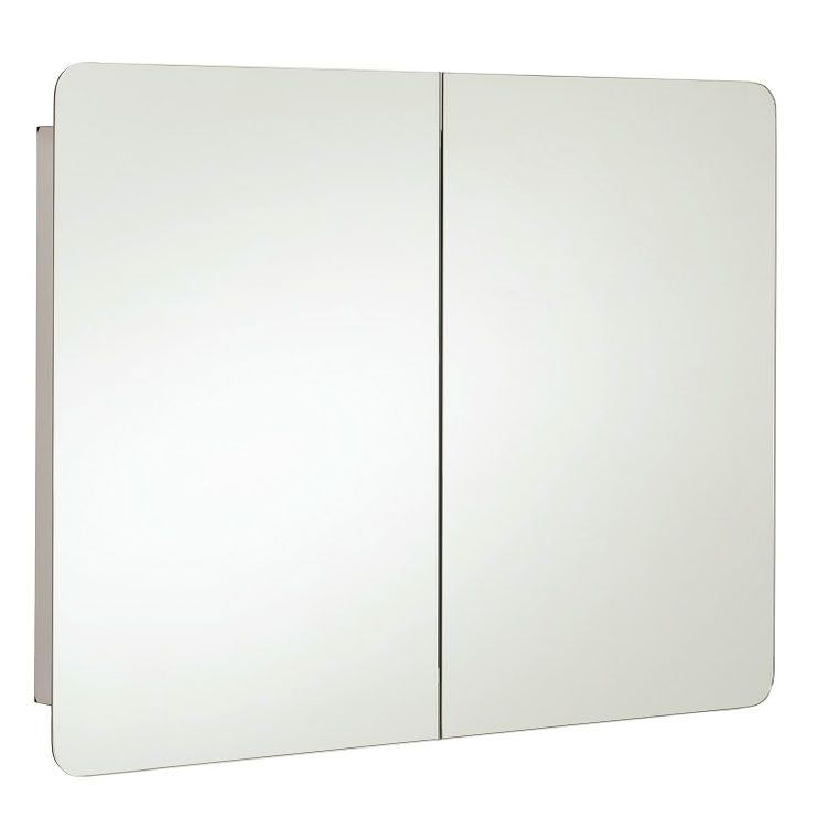 Rak Duo Mirrored Bathroom Cabinet H X W Stainless