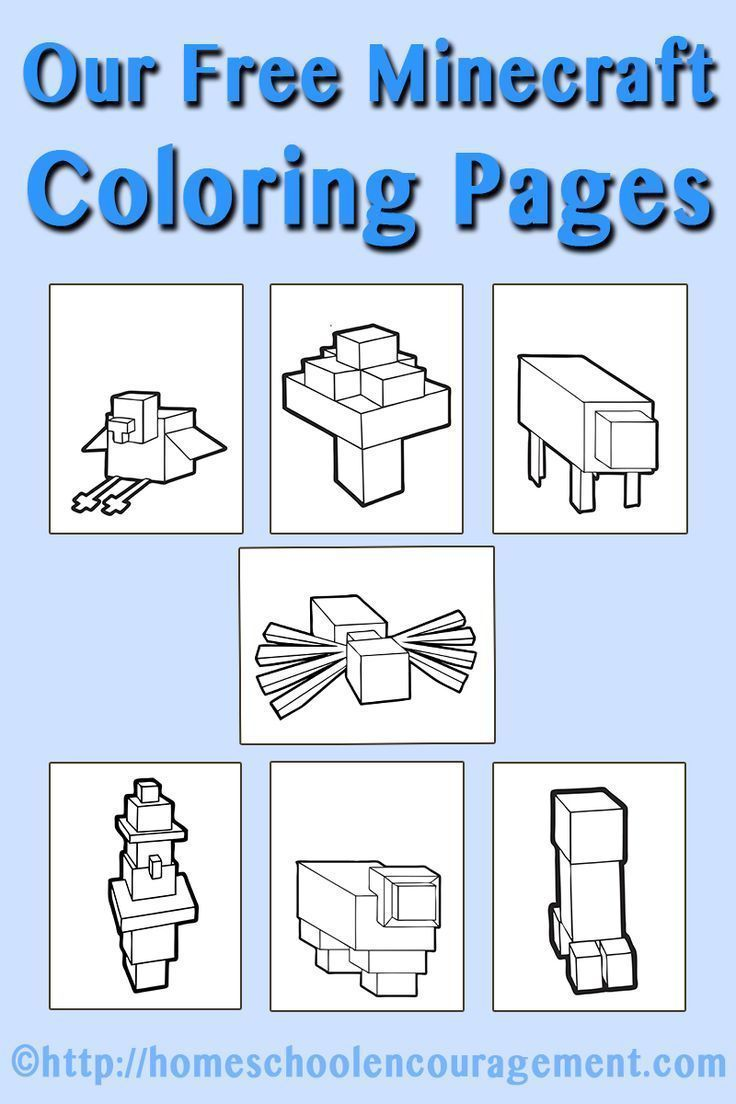Looking For Minecraft Activities Your Child Check Out Our 9 FREE Color Pages