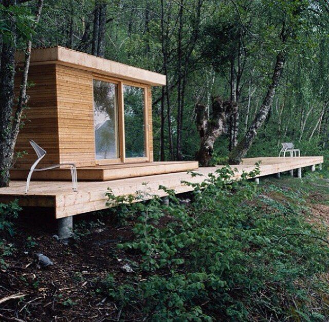 Nice Cabin In The Woods To Have Your Own Silent Retreat Or