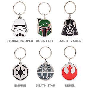 Boba Fett Enamel Keychain Star Wars