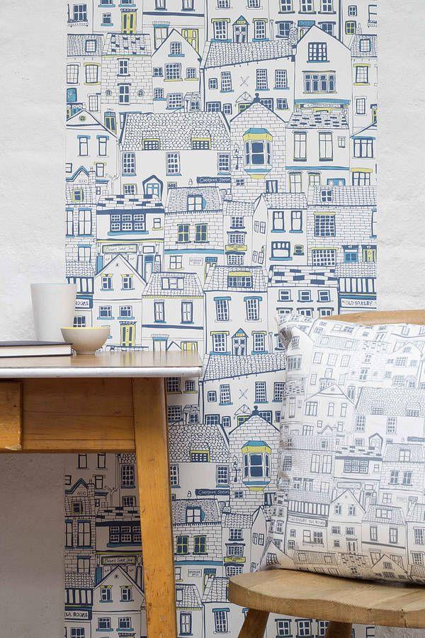 Coastal Cottages Wallpaper Cottage Wallpaper Coastal Wallpaper Feature Wall Wallpaper
