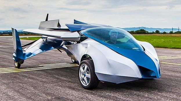 in slovakia the aeromobil flying car makes good