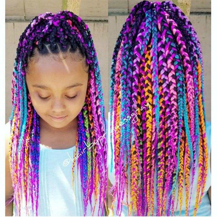 15 Kid-Friendly Curly Hairstyles   Kids braided hairstyles ...