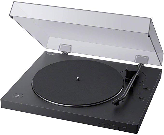 Amazon Com Sony Ps Lx310bt Belt Drive Turntable Fully Automatic Wireless Vinyl Record Player With Bluetooth And Usb Output With Images Stereo Turntable Turntable Stereo