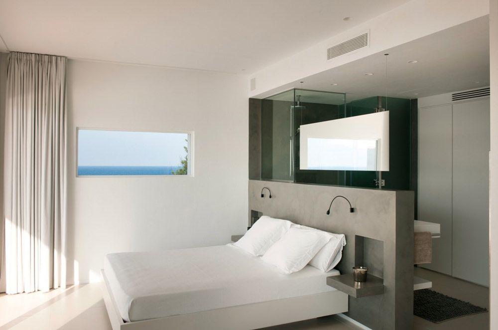 Bagno In Camera Con Vetrata : 40 idee di lavori in cartongesso per la camera da letto camera da