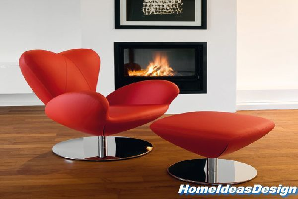 A Heart Heartbreaker Chair By Tonon, A Red Color Sofa FOr Valentine Gift