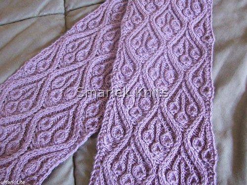 Marijke Scarf - fantastic free pattern by smariek