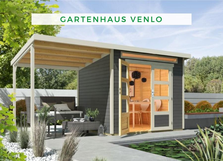 Wolff Flachdach Gartenhaus Venlo Mit Schleppdach Flachdach Gartenhaus Gartenhaus Mit Schleppdach Gartenhaus