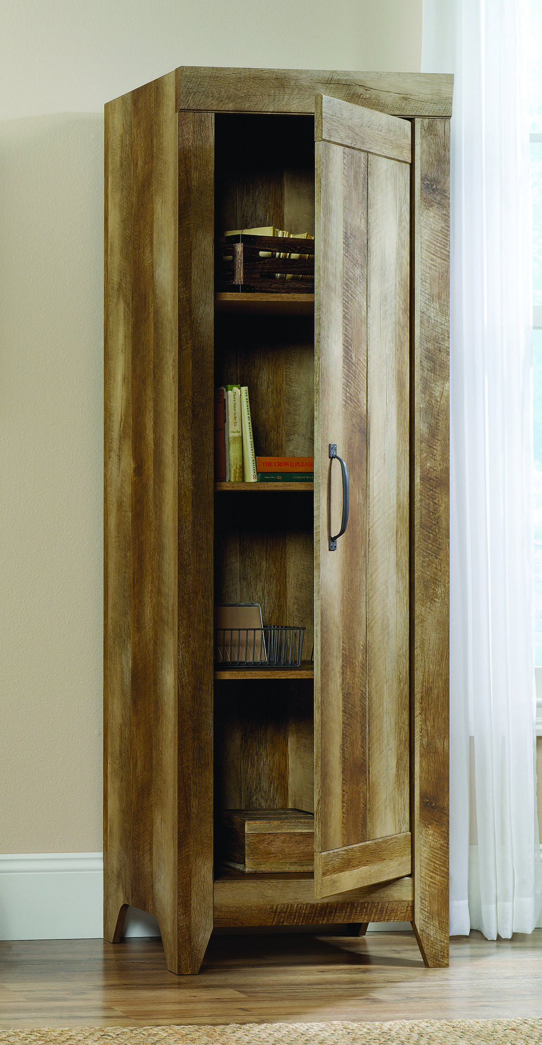 Whether itus in your living room or mudroom this sauder narrow
