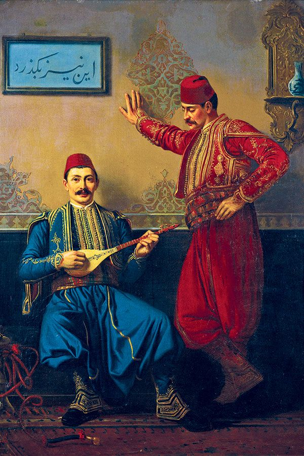 Valerie Hayette Ottoman Musicians In The Palace 90