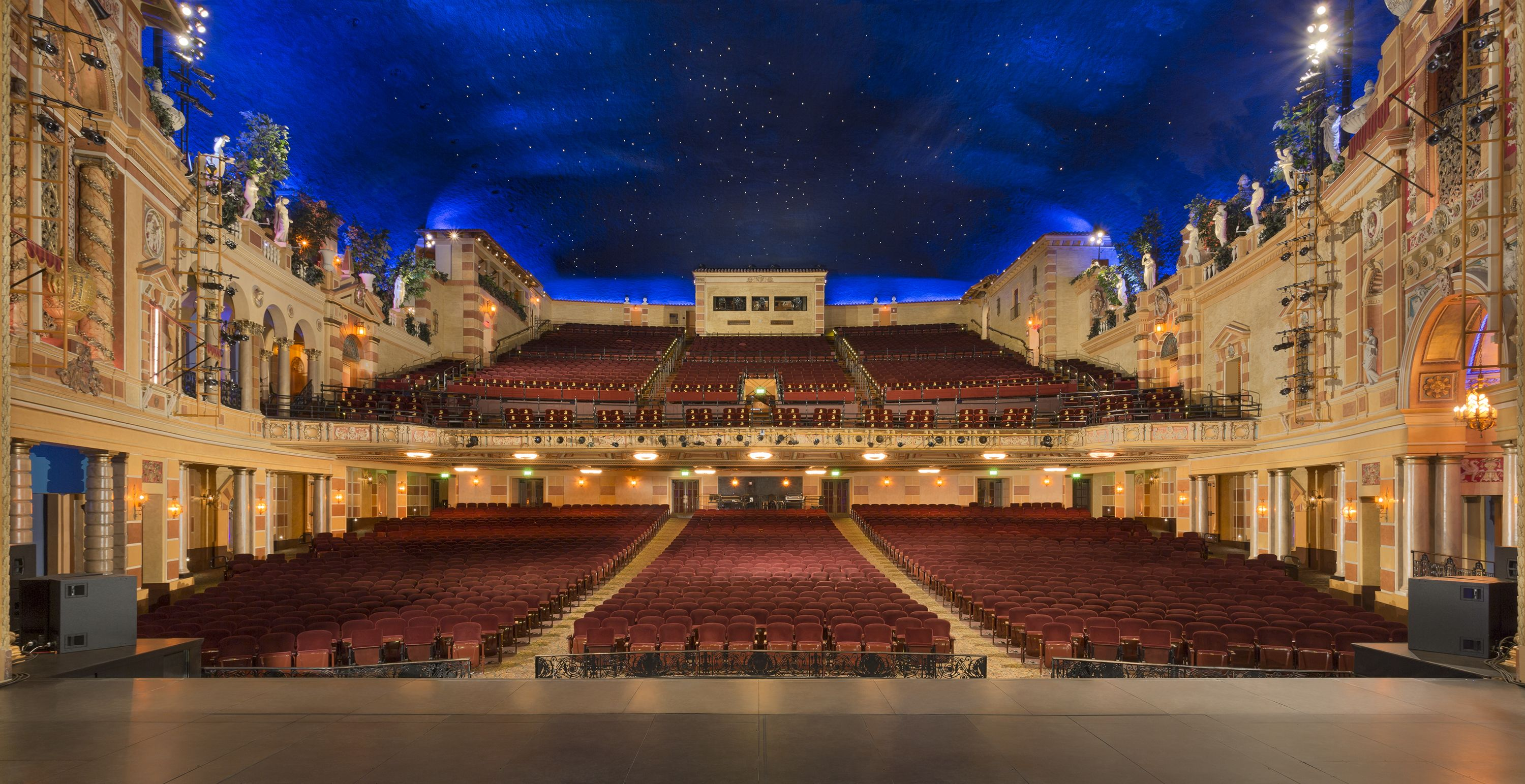 Saenger Theatre In New Orleans Architecture Mjarch Restoration Lugares Para Visitar Lugares