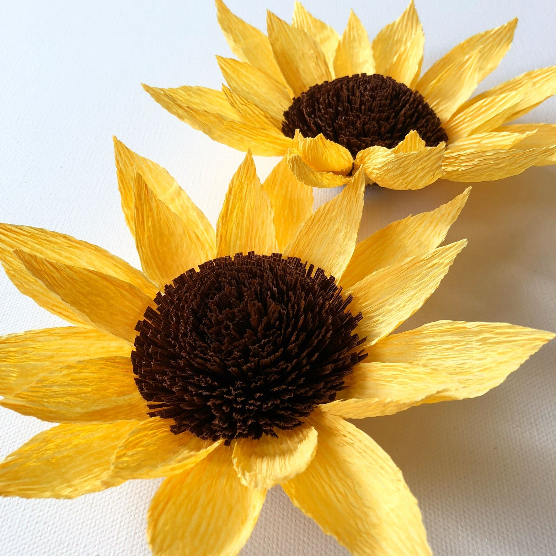 Paper Sunflowers By Little Paper Flowers Nyc Www