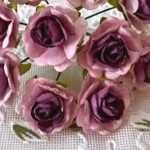 10 Roses Champagne Colormulberry Paper Crafts 15 Cm Wedding