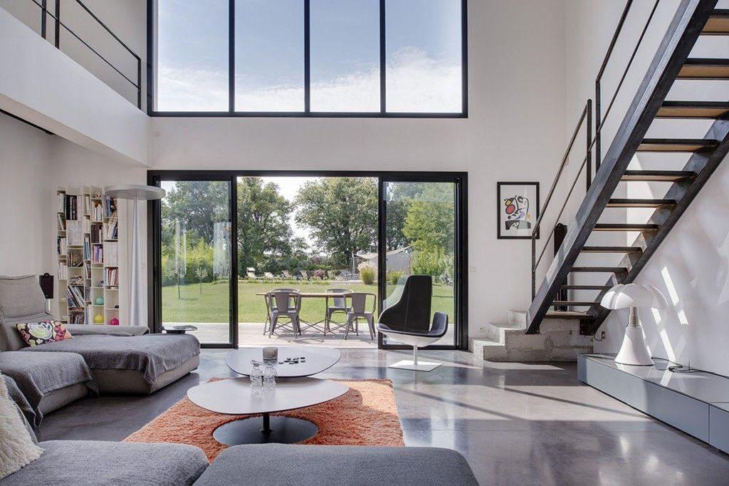 aix en provence villa contemporaine agence ea aix en provence espaces atypiques aix en. Black Bedroom Furniture Sets. Home Design Ideas