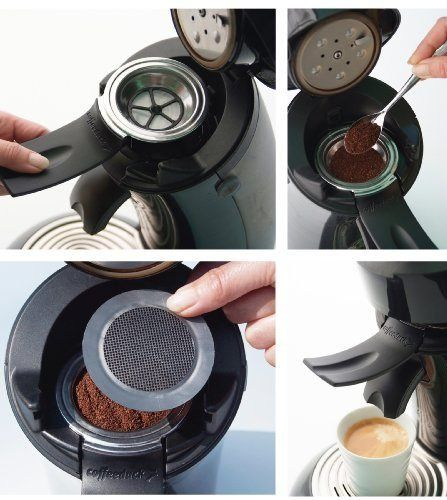 FREE P/&P NEW COFFEEDUCK SENSEO REFILLABLE COFFEE FILTER POD for ALL MACHINES