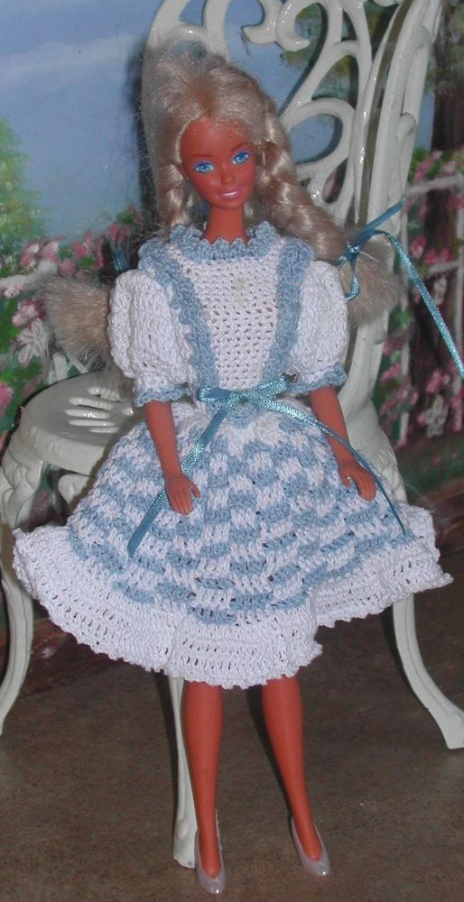 CROCHET FASHION DOLL PATTERN-#424 DOROTHY #ICSORIGINALDESIGNS ...