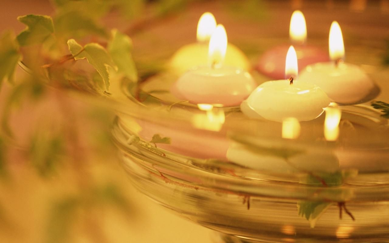 Beautiful Candles Floating Candles Wallpaper Water Candle Candles