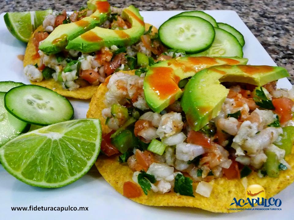 #gastronomiademexico Descubre el increíble sabor del ceviche en Mariscos Bambú de Acapulco. GASTRONOMÍA DE MÉXICO. El ceviche es uno de los platillos del mar más ricos y en Acapulco, encontrarás uno delicioso en el restaurante Mariscos Bambú, el cual puedes pedir en tostada o coctel pero sin dejar de acompañarlo con la salsa que te ofrecen. Si deseas obtener más información, te invitamos a visitar la página oficial de Fidetur Acapulco.