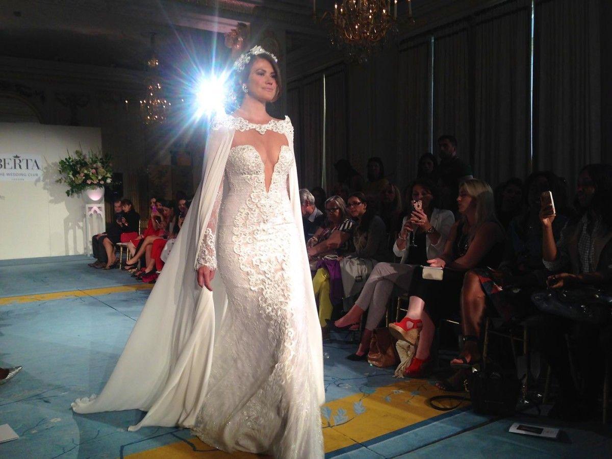 Berta Bridal 2015 Catwalk