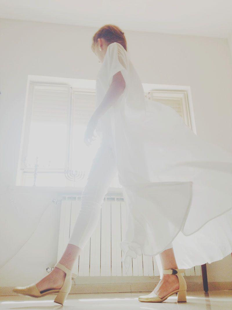 חולצה-רוברט זלוטניק. מכנסיים-בוטיק חמש. נעליים-LAX.