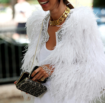 Celine ID Choker Necklace, GOLD: Kim Kardashian, Christine Centenera