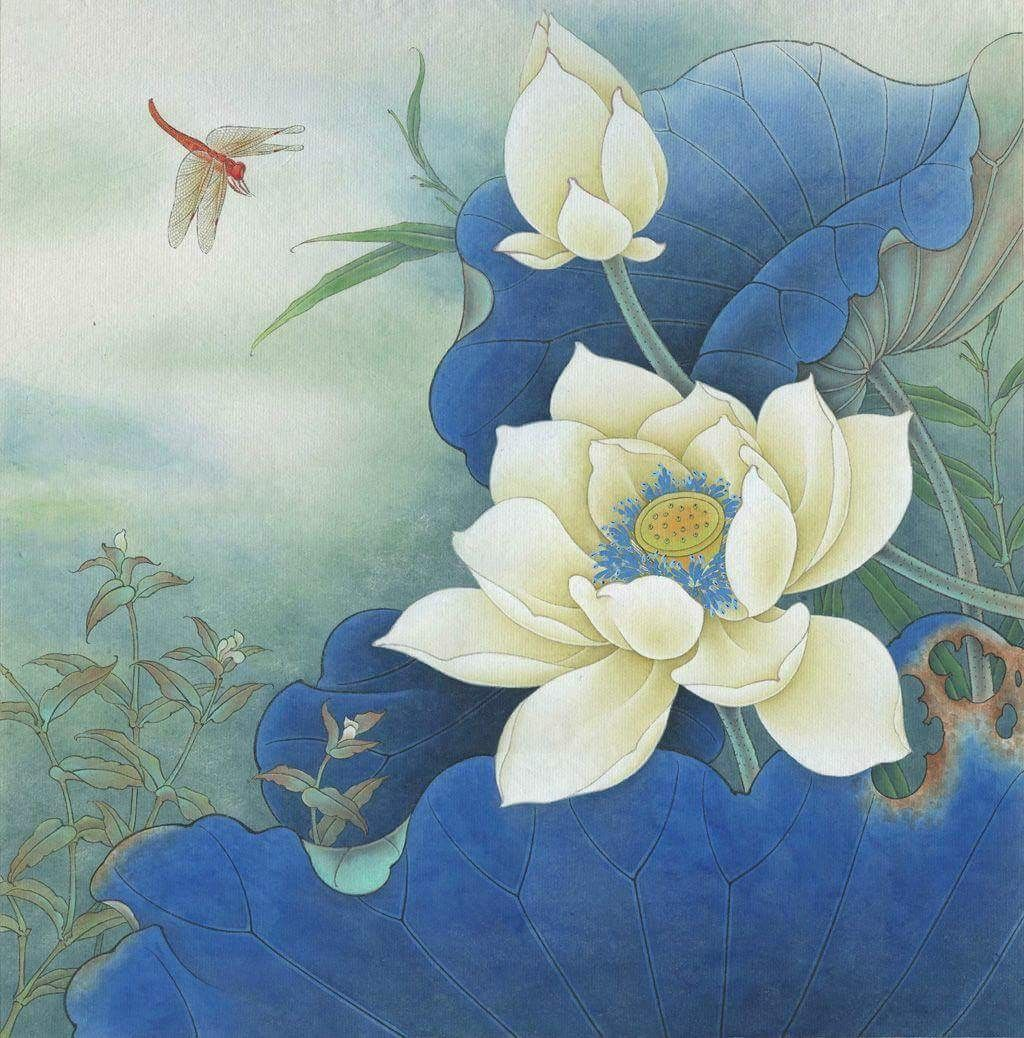 Pin By Ch Mu On Hoa Sen Pinterest Lotus Paintings And Chinese