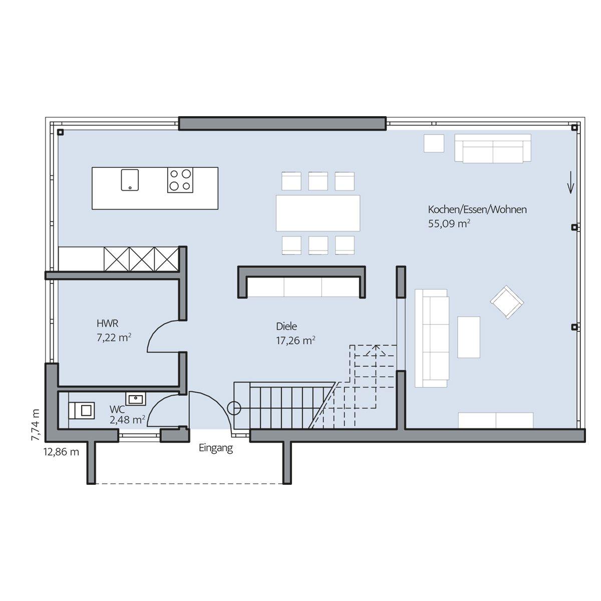 Haus immel erdgeschoss