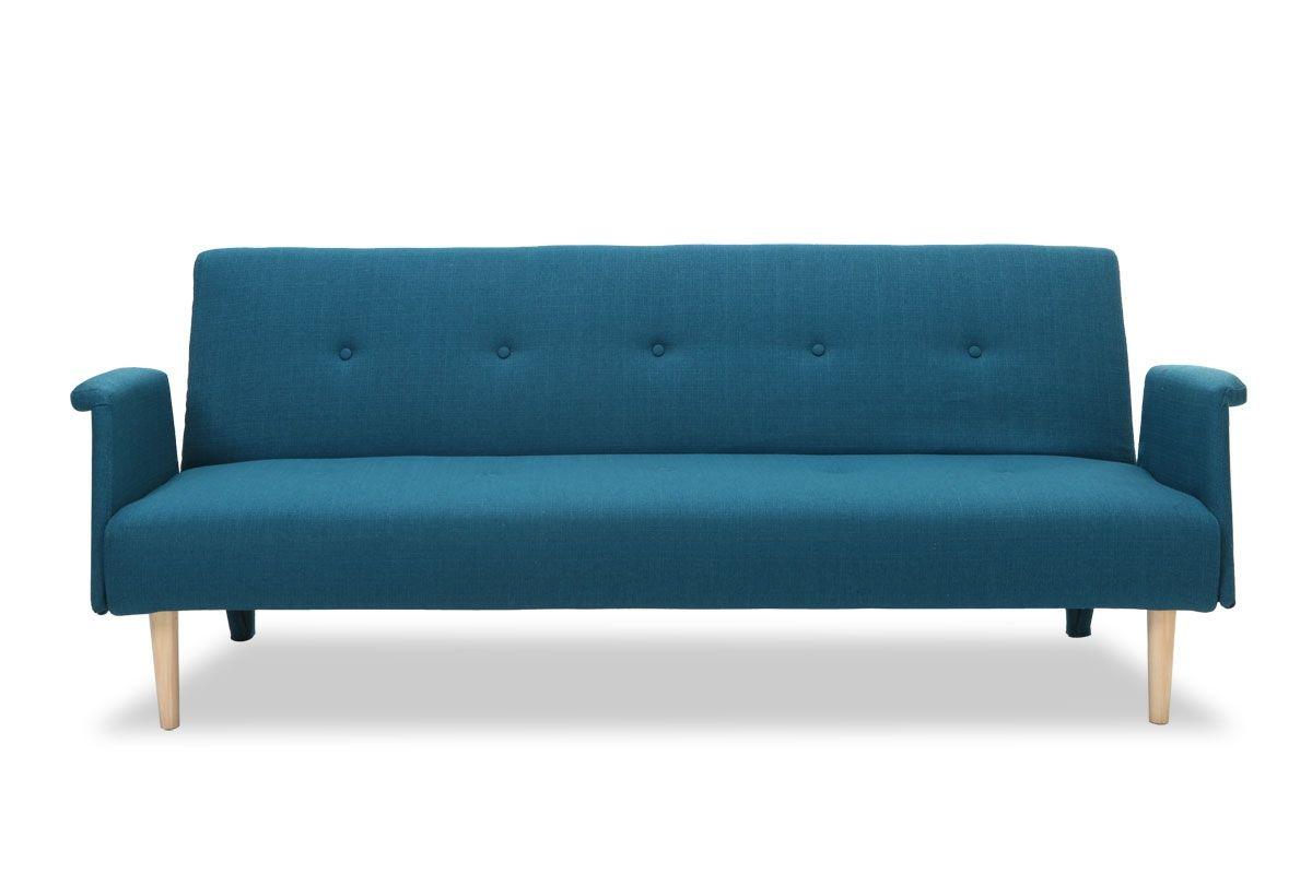 Canapé design convertible bleu OSCAR