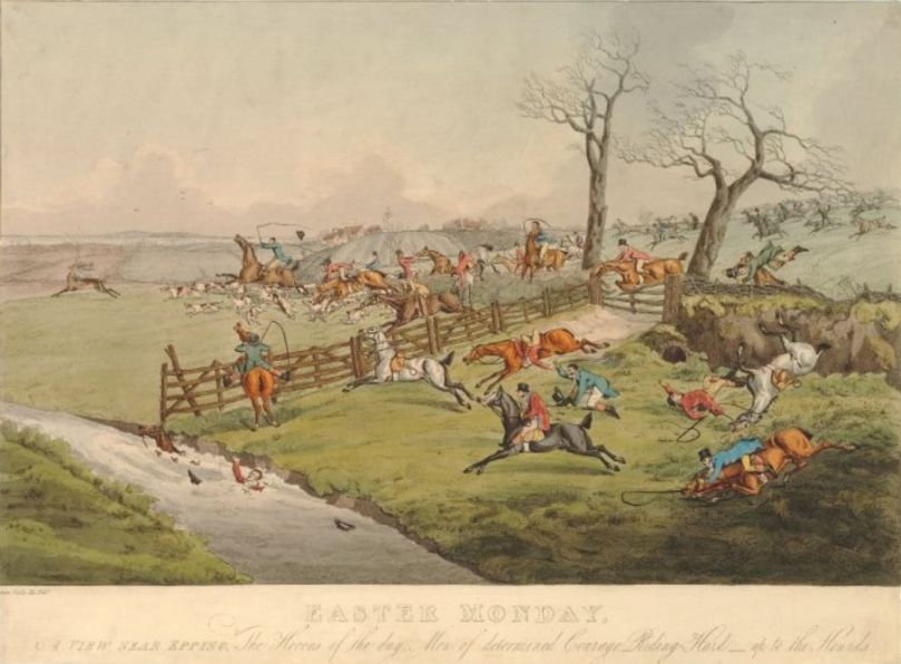 The Epping Hunt, or the 'Cockney Hunt' was traditionally held on Easter Monday.