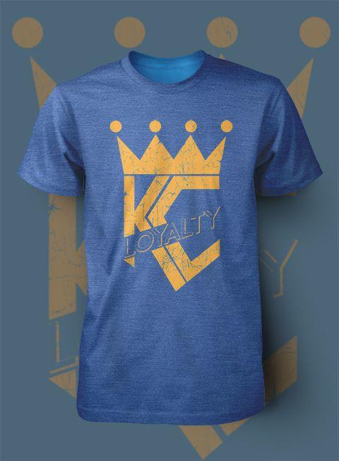 04073ca0 Image of Kansas City Royals Crown Loyal Shirt | Kansas City Royals ...