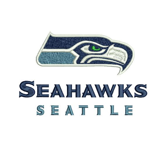 Seattle Seahawks Machine Embroidery Design 4x4 By Embroideryspace
