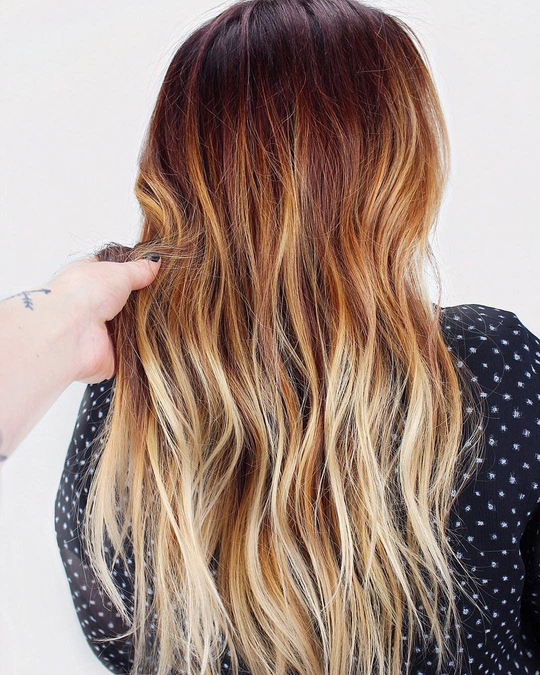 Balayage Blonde Orange | Pumpkin Spice Hair Might Be The Biggest ...
