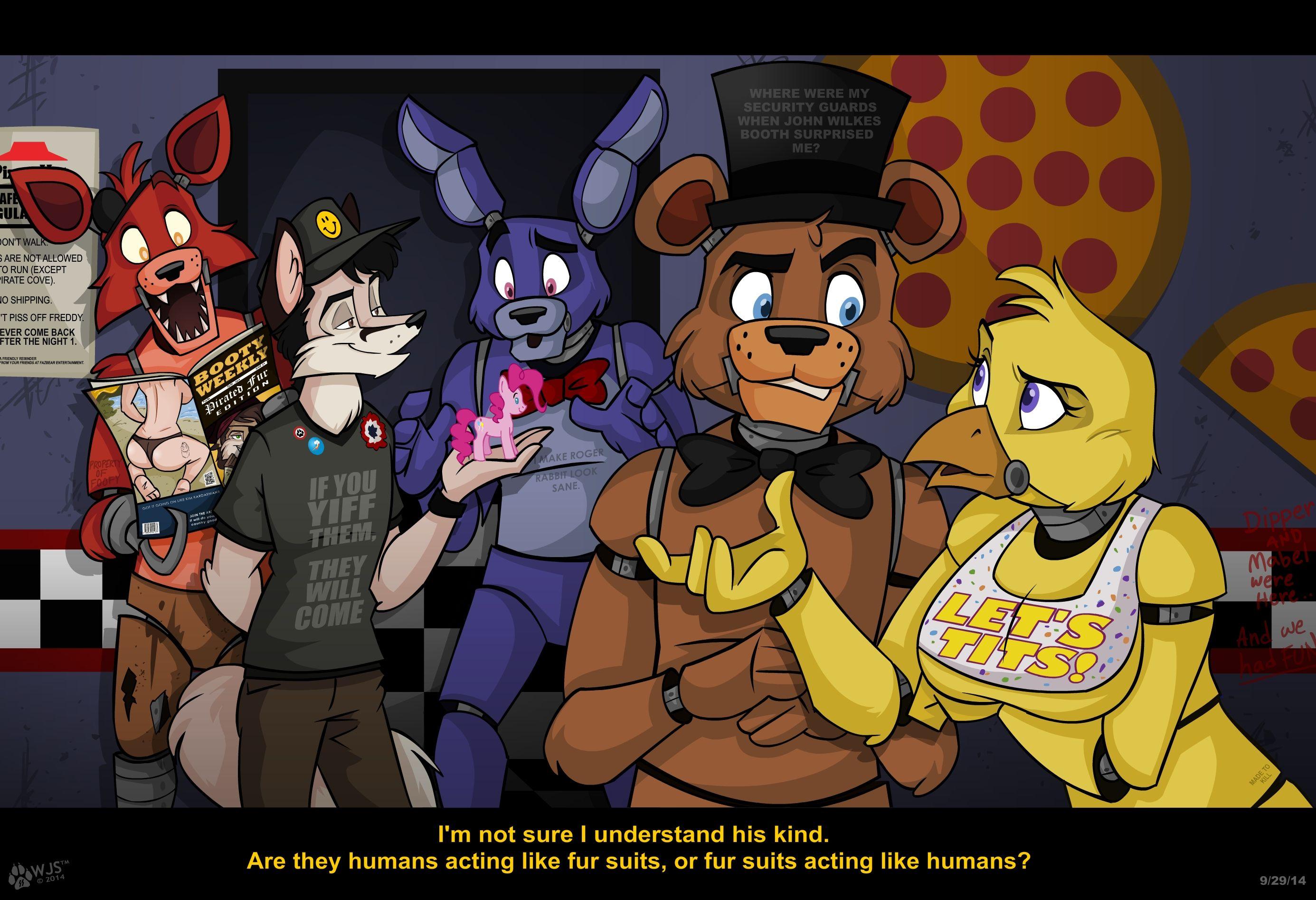 Five Nights At Freddys Lo Q Se Pierden En Estando