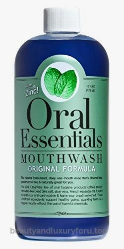 Oral Essentials Sugar Alcohol Free Mouthwash – 16 oz  BUY NOW     $11.99    Oral Essentials Original formula for bad breath is just what you'd expect; the ultimate weapon for fresh breath! Our Original  ..  http://www.beautyandluxuryforu.top/2017/03/04/oral-essentials-sugar-alcohol-free-mouthwash-16-oz/