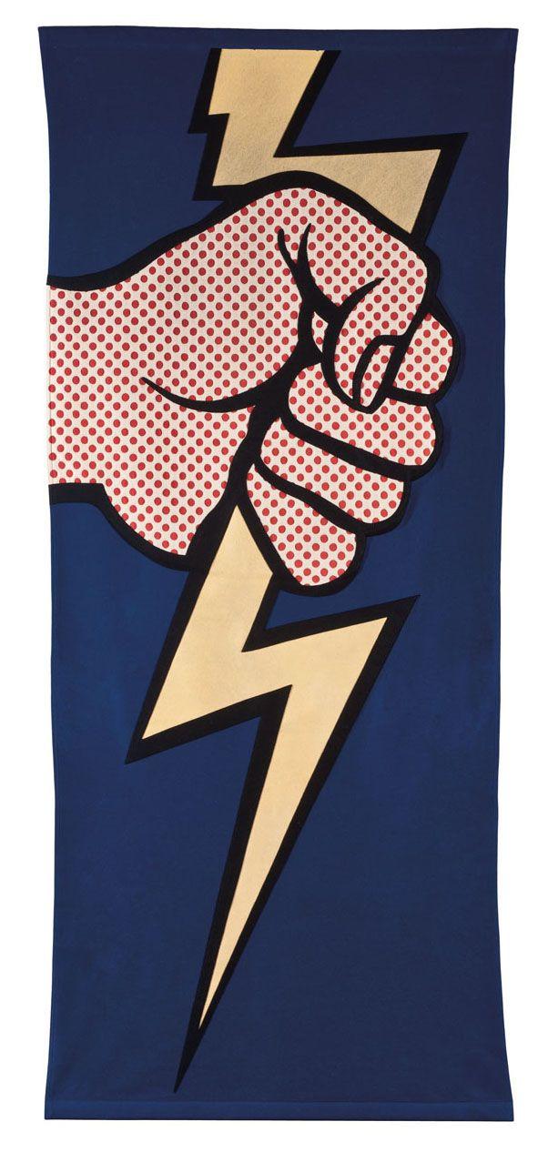 Roy Lichtenstein: Thunderbolt.