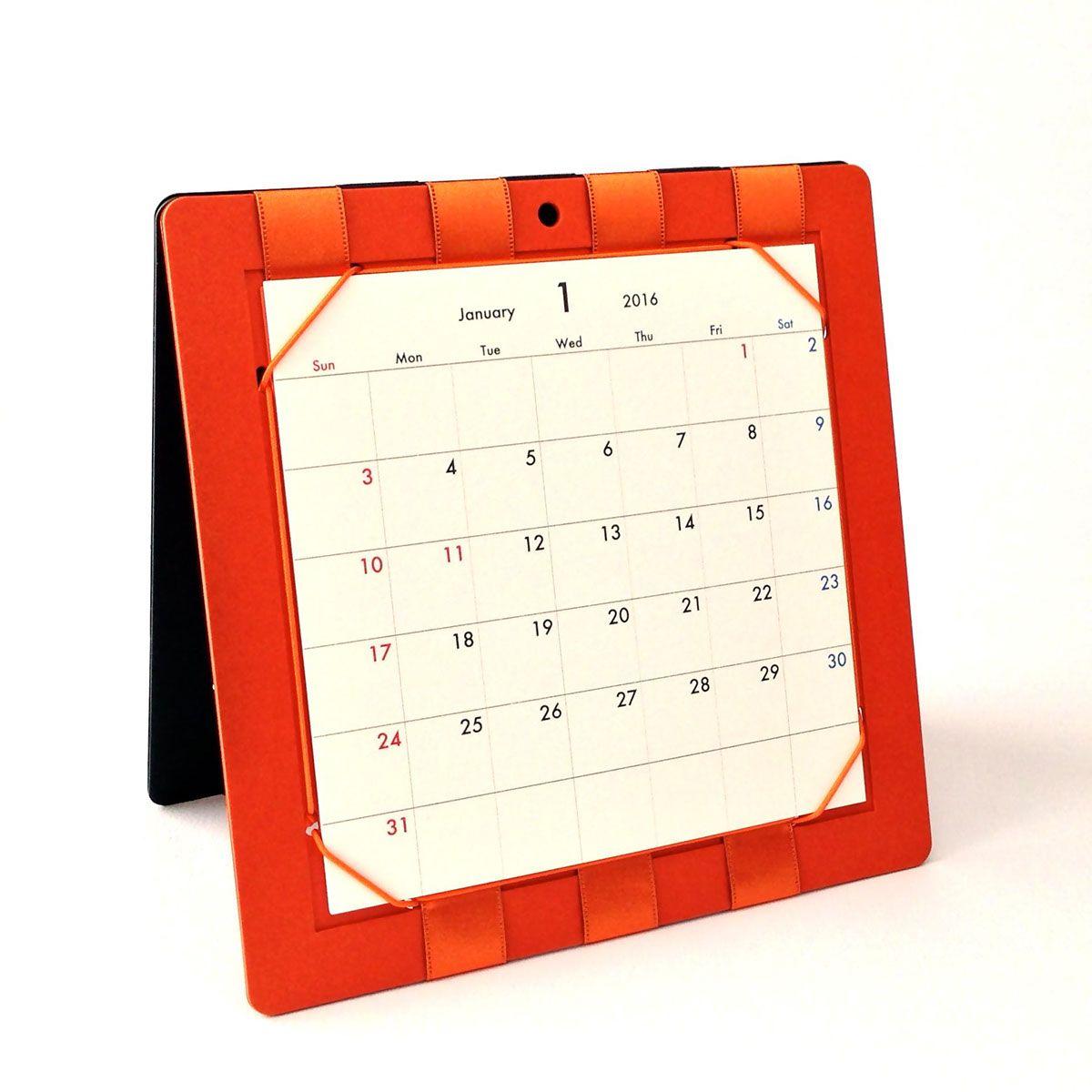 Flip Style 2-months Calendar 2016 | パタパタ式・見開きカレンダー on Behance
