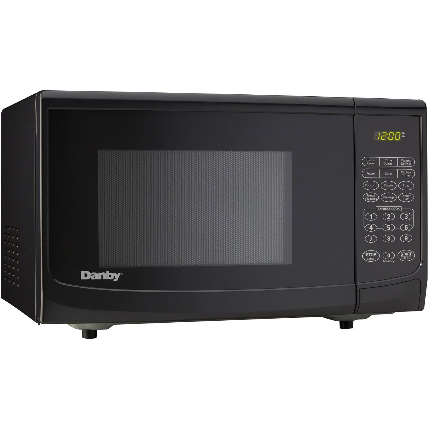 Amazon Com Danby 1 1 Cu Ft Countertop Microwave Black