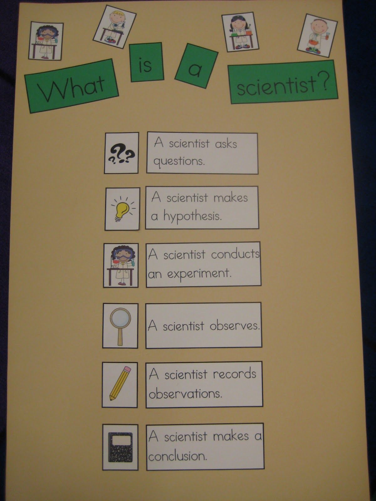 What Is A Scientist Ready Made Anchor Chart The Whole