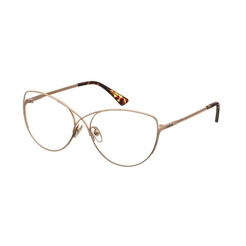 4f5f8e5254818 Armação de Grau Colcci C6012 Dourado e Marrom Demi Feminino - Colcci Eyewear