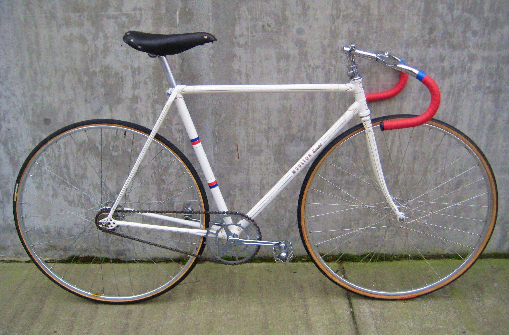 Vintage Mike Moulton Track Bike at Classic Cycle | Classic ...