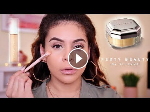 NEW FENTY BEAUTY PRO FILTER CONCEALER SETTING POWDER: FIRST ...