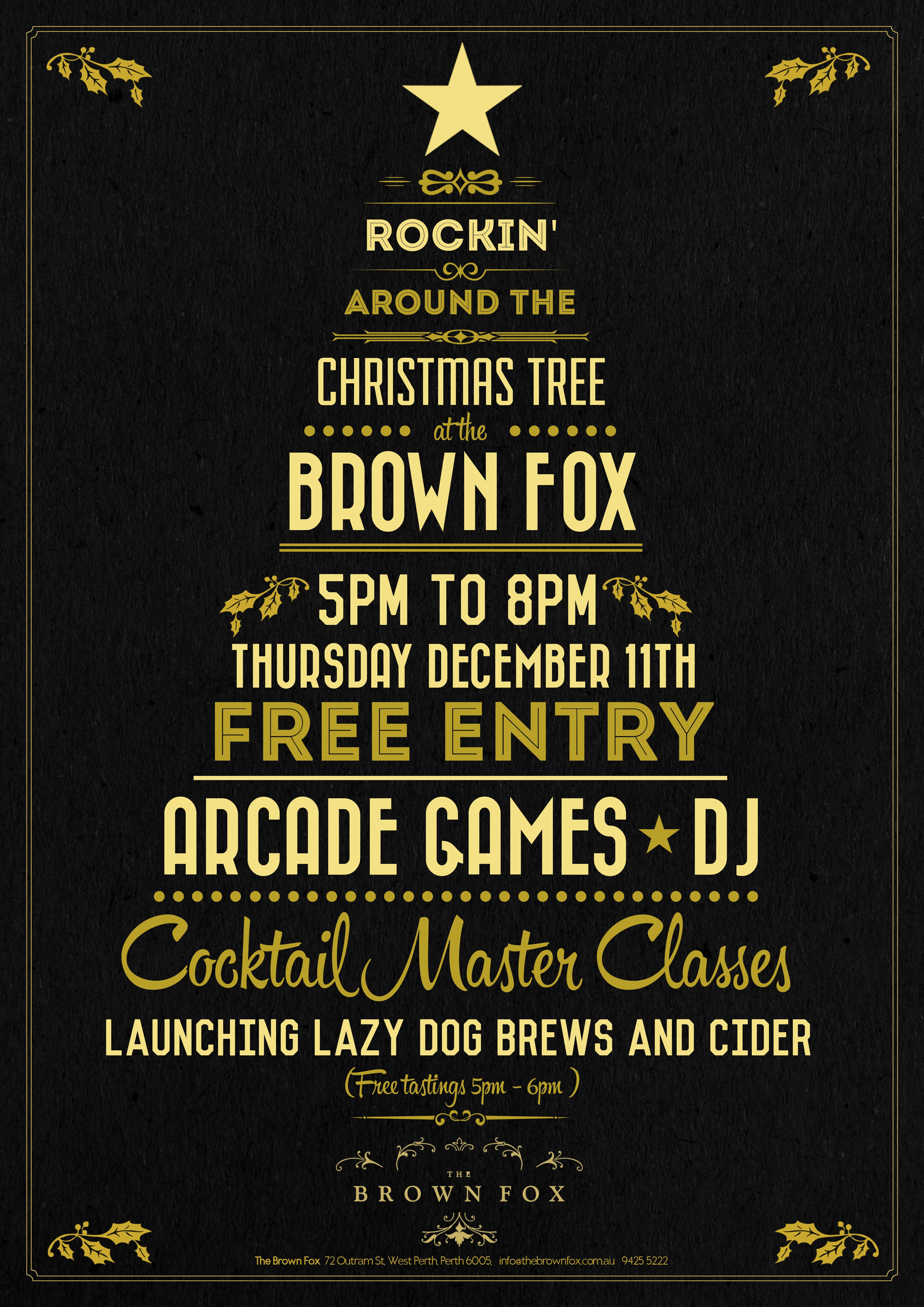 Perth Christmas Party Ideas Part - 26: Christmas Tree Typography Poster - Google Search