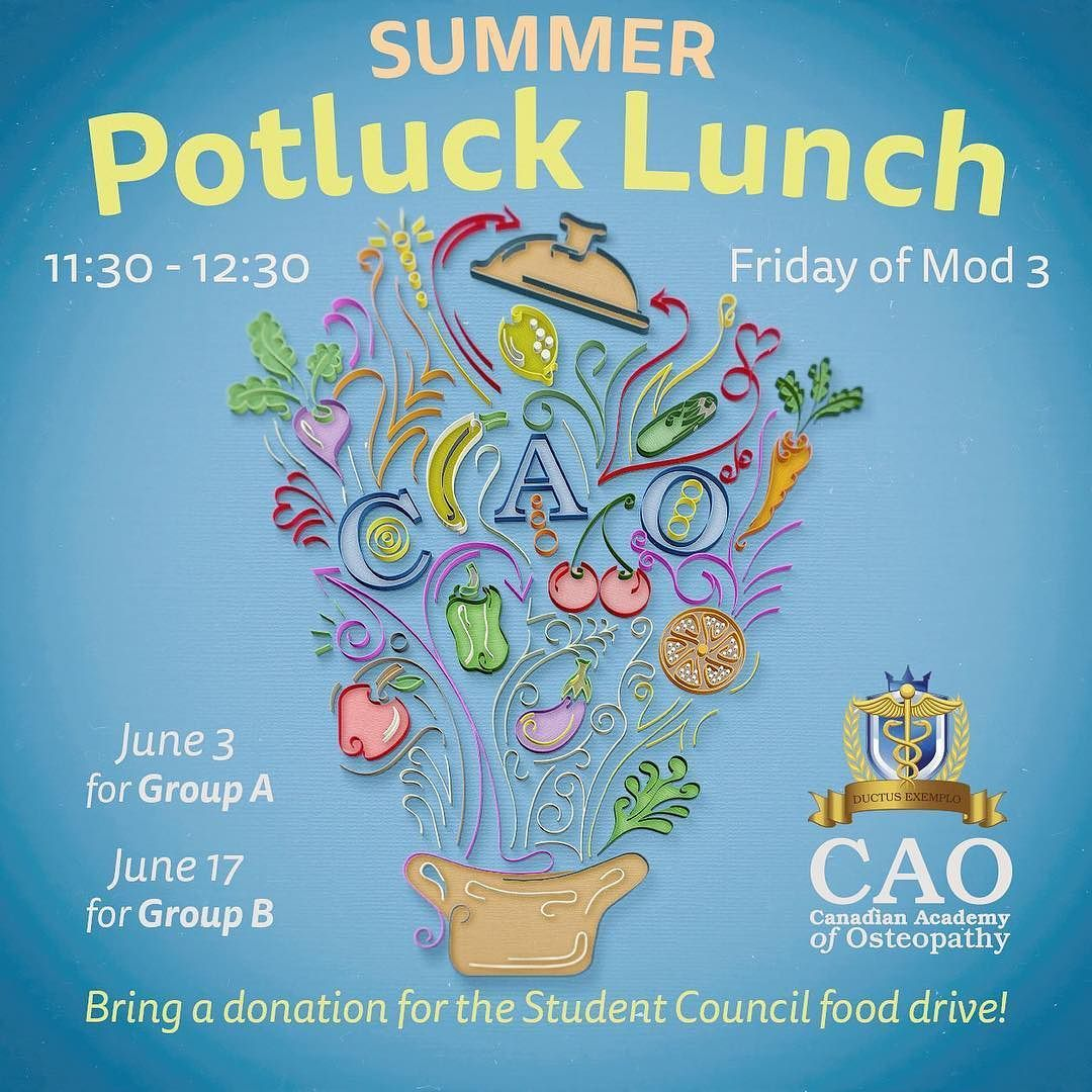 Remember Group A Students Summer Potluck And Food Drive