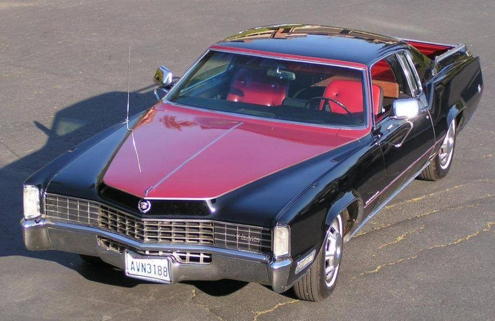 This 1968 Cadillac Eldorado, listed on Hemmings.com, was converted ...