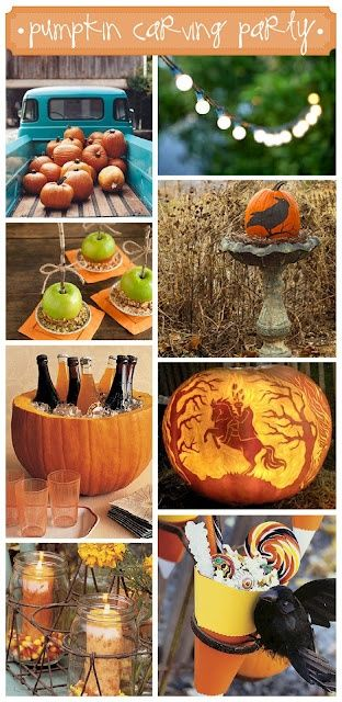 halloween party decorations Design And Life Pinterest - halloween party centerpieces ideas