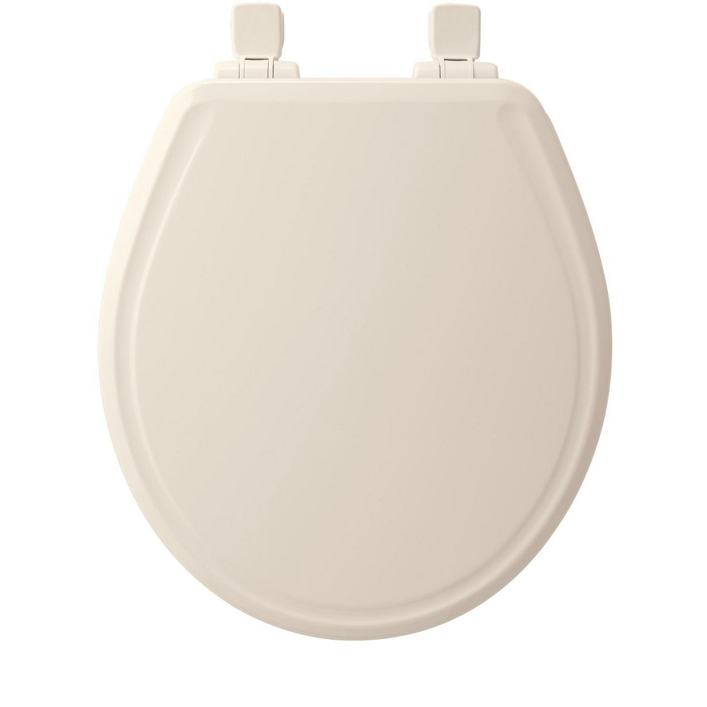 Amazing Bemis 600E3 Round Closed Front Toilet Seat And Lid Linen Beatyapartments Chair Design Images Beatyapartmentscom