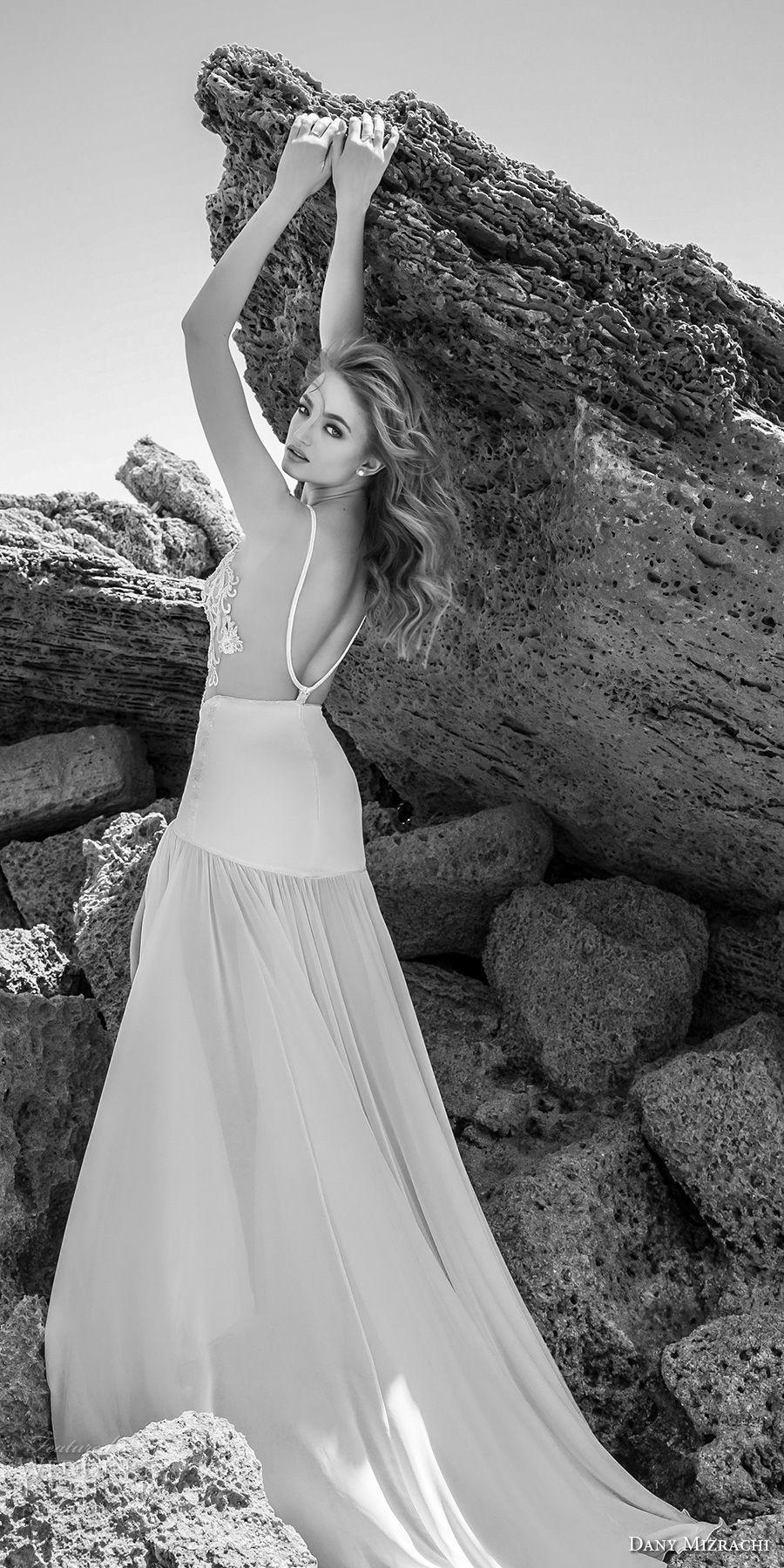 Dany mizrachi wedding dresses chapel train wedding dress and
