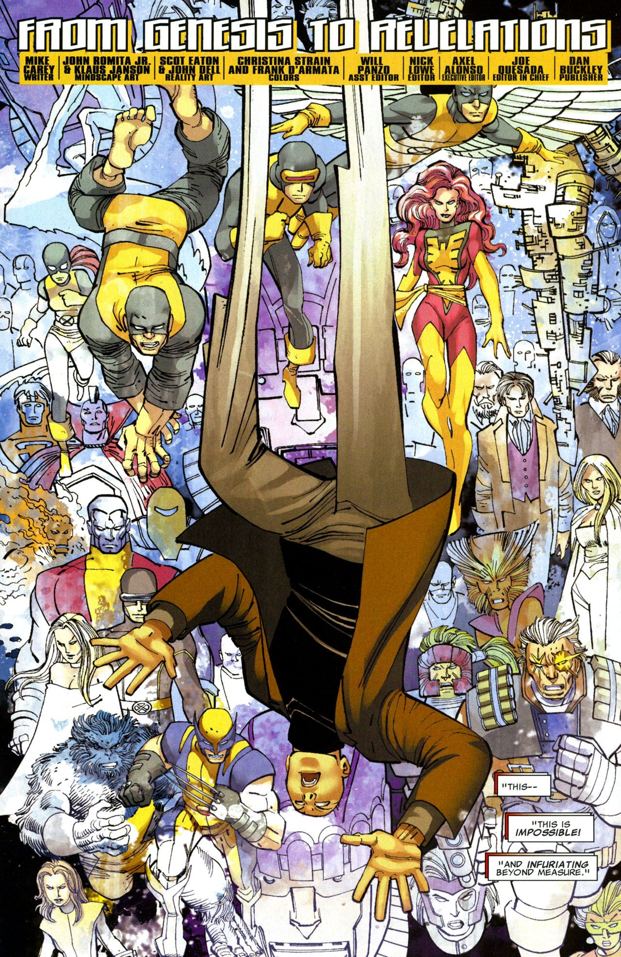 X Men Legacy Vol 1 208 Art By John Romita Jr Klaus Janson Comic Book Heroes John Romita Jr Comic Book Cover