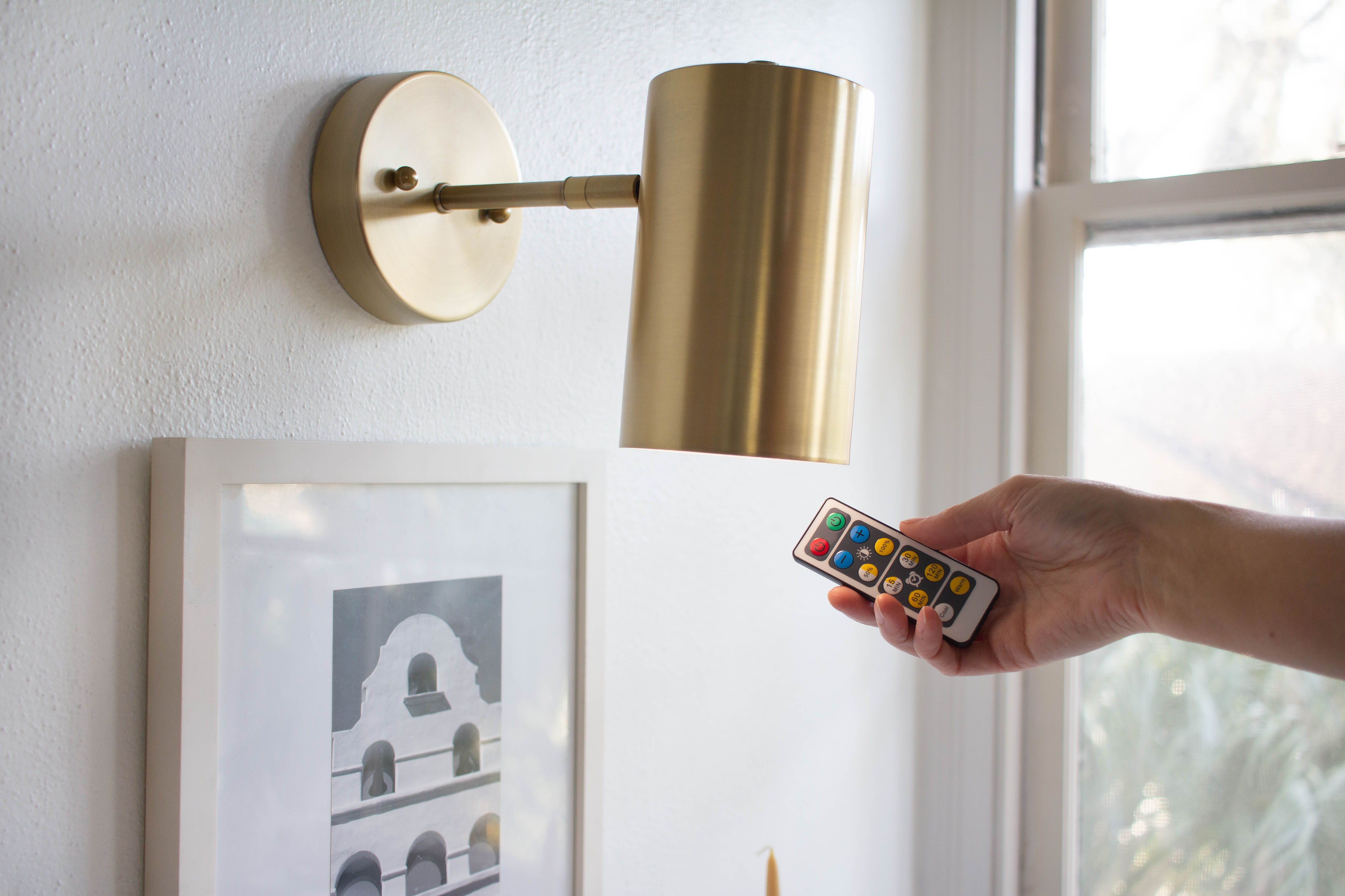 Genius Wall Sconce Hack, No Electricity Required | Hunker ... on Sconces No Electric Power id=94970